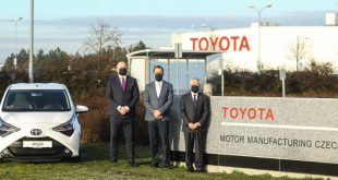 Toyota Takes Full Ownership of PSA-Shared Czech Plant